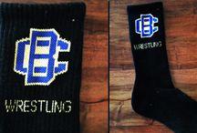 Custom Wrestling Socks / 0