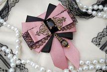 Розовый и черный