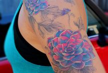blomster tattoo