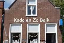 Kado en Zo Balk / Kado en Zo Balk is een winkel die trendy, stoer, verrassend en gezellig is. Meer info op http://kadoenzobalk.jouwweb.nl/