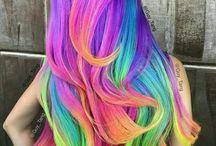 Cabelo arco-íris