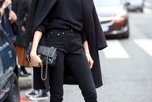 black wear