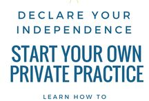 How to be an Independent clinician!!!!