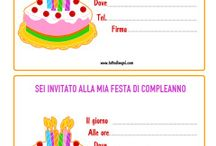 inviti compleanno