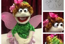 """the Lightlings Designs: Puppets & Nature / Costumes, props and sets designed for our new production, an adaptation of R.C. Sproul's """"the Lightlings."""" Learn more about the show at http://cmtministries.blogspot.com/2016/02/the-lightlings-now-booking.html?m=1"""