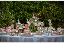 Outdoors Tea Party / by Lupe Binoeder