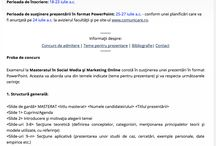 Despre Masterat / Informatii despre Masteratul Social Media & Marketing Online
