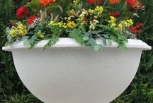Small Water Fountains / The Windsor Jardiniere Cast Stone Planter has a woven basket patter design with a large detailed upper rim of woven rope and a matching relief of rope on the bottom rim.  http://www.thegardenfountainstore.com/windsor-jardiniere-cast-stone-planters