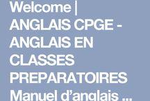 CPGE - Anglais en classe prépa