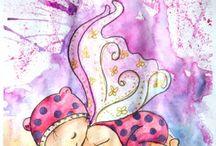De bien charmantes Illustratrices / Laure Phelipon - Gaelle Boissonard - Therese Larsson -  marie desbons - Marie-Rose Boisson -