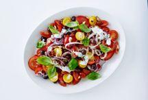 salater og tilbehør