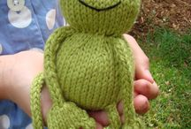 Toys: knitted & crocheted