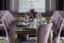 Lavender Violet and Purple / Examples using shades of violet to create amazing interiors.