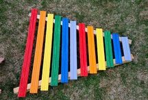 Kids stuff / Home made xylophone