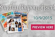 Sunday Coupon Insert Preview