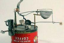Automata, crank and kinetic
