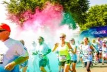 Who wants to see some COLOUR?! / Color Vibe 5km blasted Windsor beautiful this Easter weekend. Check out some of the pre and post-race coverage! www.promotepr.com | @PromotePR