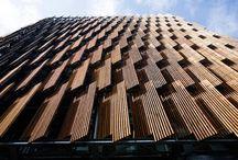 Lamellas facades