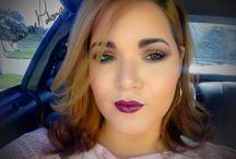 Fall makeup with vampy lips / by Daniel-Rosalidia Ramos