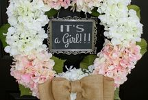 Baby welcoming party ideas for a girl