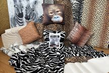 Walking On The Wild Side / Add a touch of the wild to your home decor, this board features animal prints, wild florals, super soft faux fur throws and photo-realistic cushions. Don't forget to Pin your favourites!