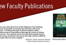 Faculty Publications / Sampling of new faculty publications at Indiana University Maurer School of Law, Bloomington, Indiana