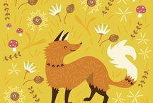 Fox / Fox; Лисички; Лисы