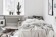 INSPIRATION: Bedrooms [BLACK/WHITE/GREY]