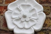Find a Yorkshire rose and pin it here / Our county is blooming with celebrations and depictions of its emblem - the white rose. Seek them out and pin them here.