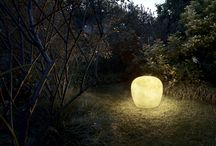 Lucente outdoor / The Lucente lamps for the outdoor