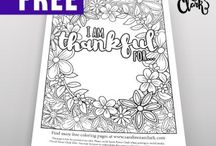 Adult Coloring Blog | Sarah Renae Clark / Come and visit my blog at www.sarahrenaeclark.com to find valuable coloring tips and techniques for drawing or coloring, information about my adult coloring books, free coloring pages and printables, video tutorials, color palettes, organizational tips and so much more!