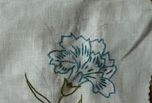 broderie, embroideries