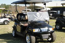 Windshields Customized / Customize your windshield for glare reflective, UV-blocked, collegiate, themed as well as mirror and other safety related items.    Get your favorite team themed golf cart @ Golf Car Ranch, we can accessories your car with flags, decal, enclosures, seats, pin stripped, color coordinated roofs and wind-shields.   Golf Car  ONline catalog: https://www.onlinecatalogsystem.net/catalog/HollyLakeGolfCarRanch/browsemanuf.htm