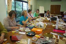BDEG (Banbury & District Embroiderers' Guild) / Exploring Textiles, Stitch & Mixed-Media Creativity