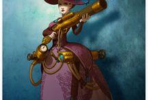 Illustrations et personnages de films d'animation