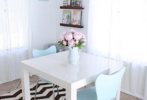 Dining and kitchen. / by Ashley Chancey