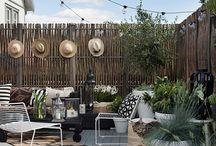 jardin terrasse extérieur