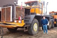 American Oilfields Trucks / Hard Trucks for Heavy & Hard work in the Oilfields.