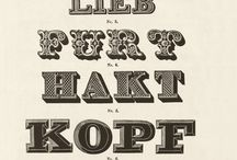 Vintage Notes / Great ideas and use of vintage type.