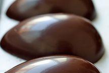 Ovos de páscoa de colher