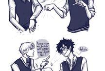 HP Harry Potter & Draco Malfoy