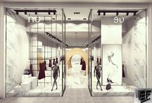 nu magazası  Festival avm Qatar / #360 render #render #interior design  #interior #parametric  #design #cage #architectural