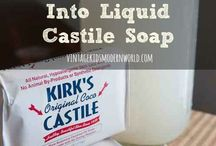 How to turn a bar of castile soap into liquid castile soap