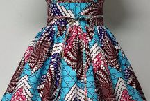 Vestidos de estampas africanas