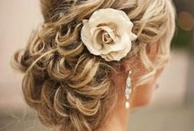 Wedding day hair dues / by Kaitlyn Garbett