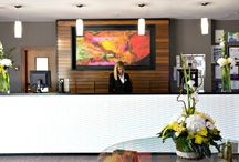CONFERENCES at Aubrey Park Hotel / Here is a board showcasing out conference rooms....
