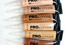Concealer and swatches