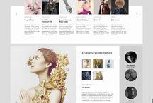 Website inspiration for 2015 / A selection of great looking websites