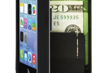 """iPhone 5/5s / - fits all iPhone 5/5s devices (does NOT fit iPhone 5C) - dimensions: 5"""" x 2 3/8  x 3/4"""" - hinged back for built-in storage space - holds three bank cards and cash comfortably - comes with enclosed mirror - kickstand feature for watching videos and FaceTime chatting - easy access to phone and all ports/controls - form-fit feature protects screen - made with high quality polycarbonate to protect phone and valuables - rubber coating for sleek finish and secure grip - phone easily slides into case"""