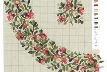 Kukat marjat lehdet ja hedelmät